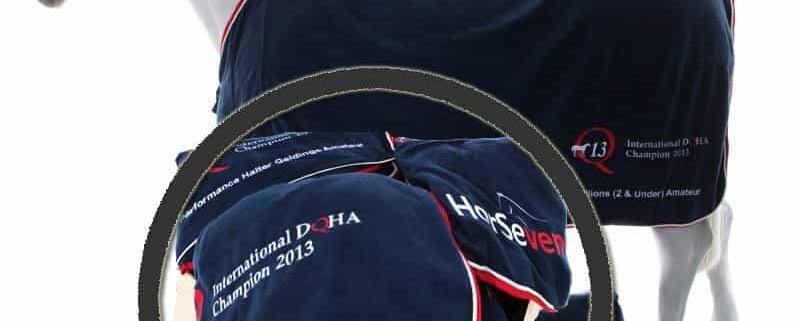 HorSeven Championdecken für die Q13