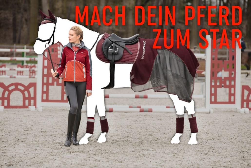 H7 sucht Top-Model für horseware-Produkte